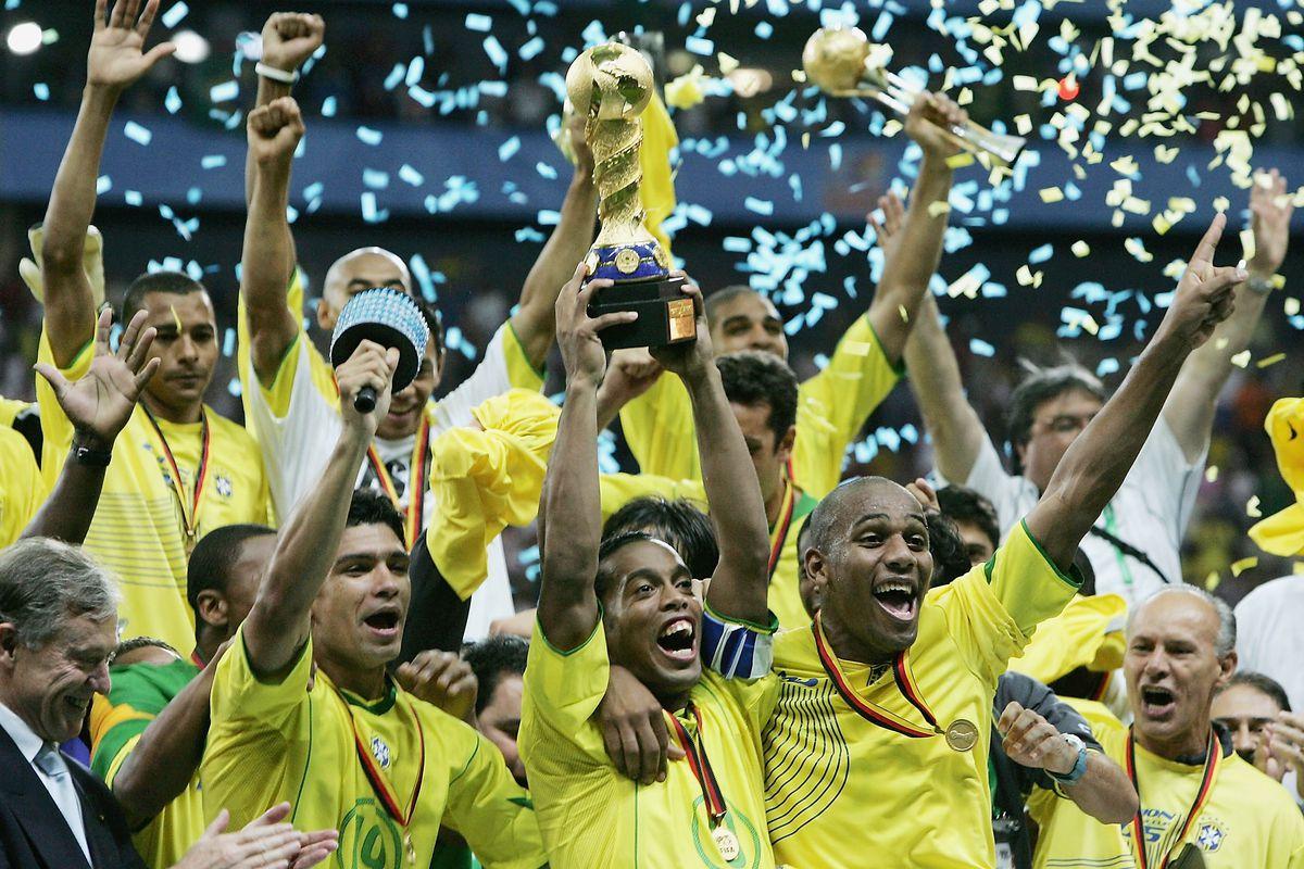 FIFA Confederations Cup 2005 Final Brazil v Argentina
