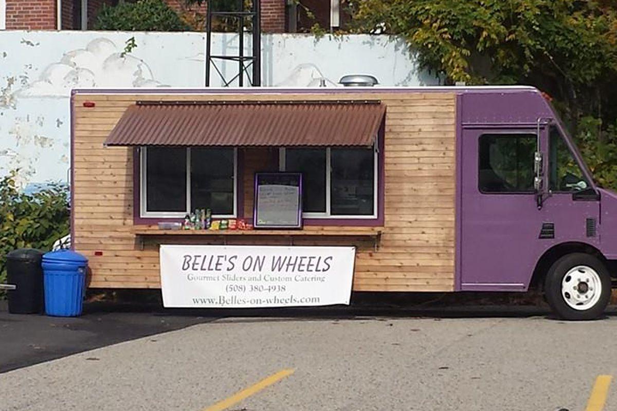 Belle's on Wheels in sunnier, warmer days.