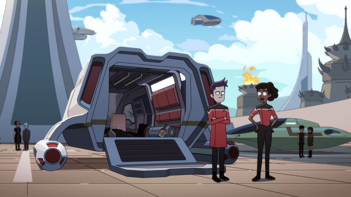 Lower Decks: Boimler and Mariner touch down on a planet