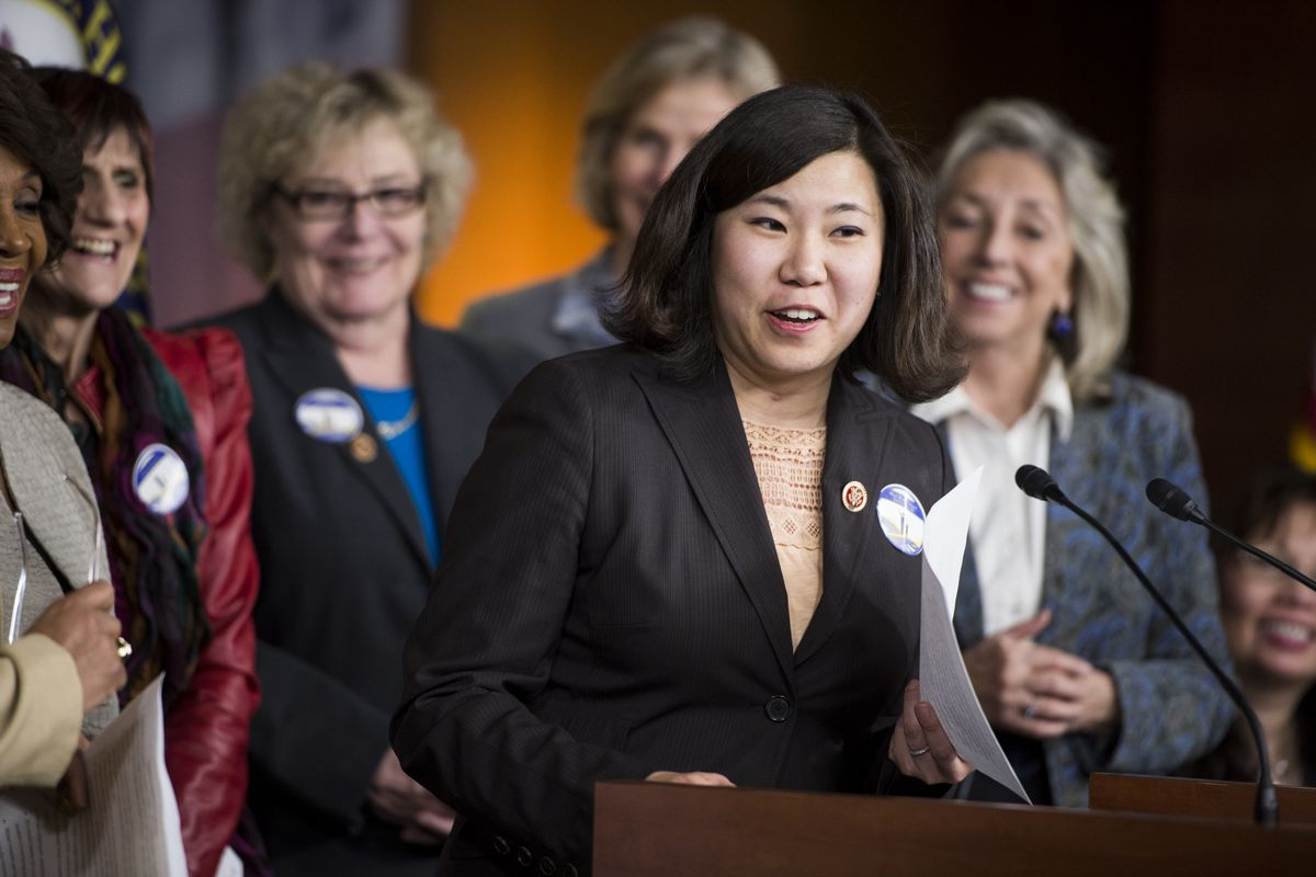 """Rep. Grace Meng (D-NY) introduced a bill that makes sure Asian Americans are no longer referred to as """"Oriental"""" in federal law."""
