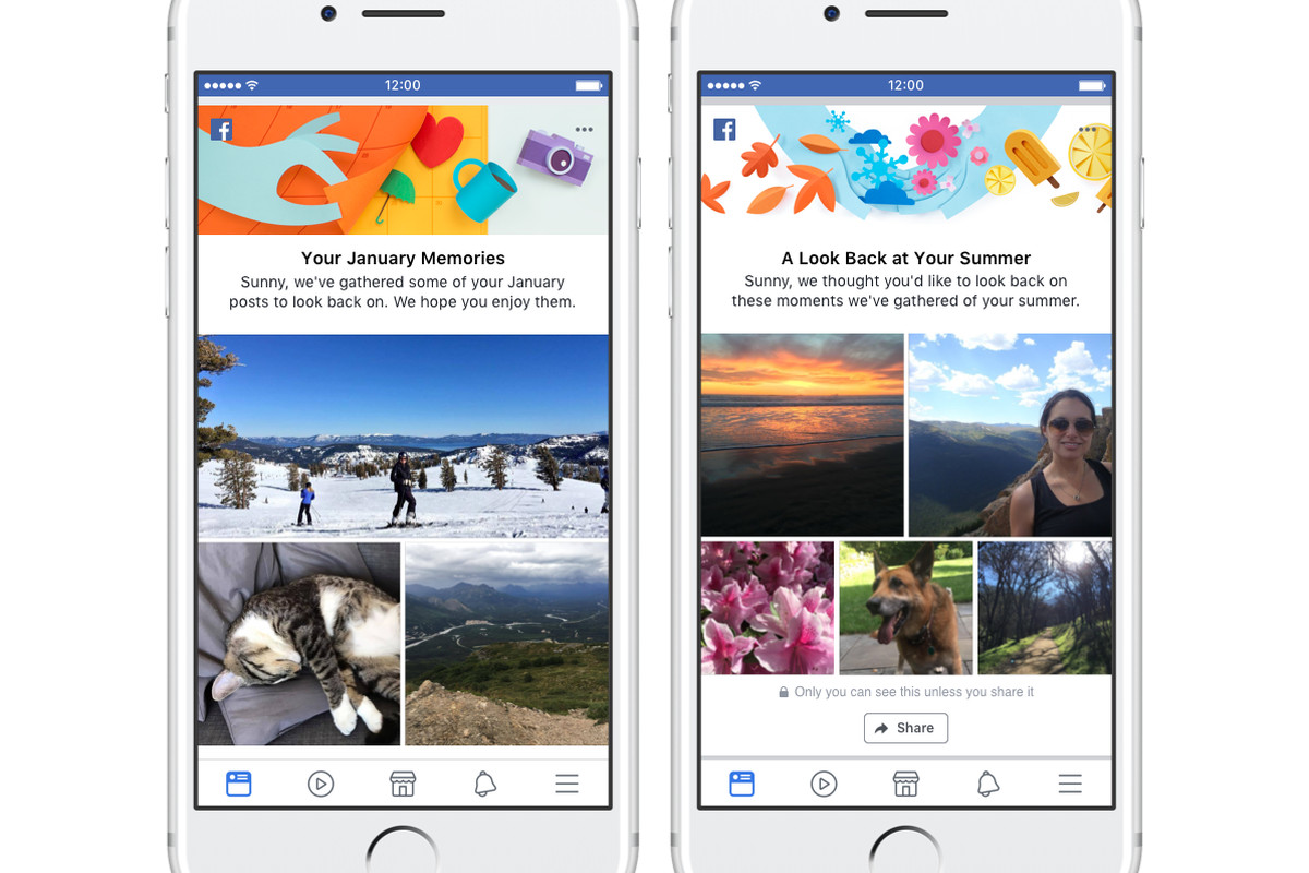 Facebook announces new options for recapping memories, new friendships
