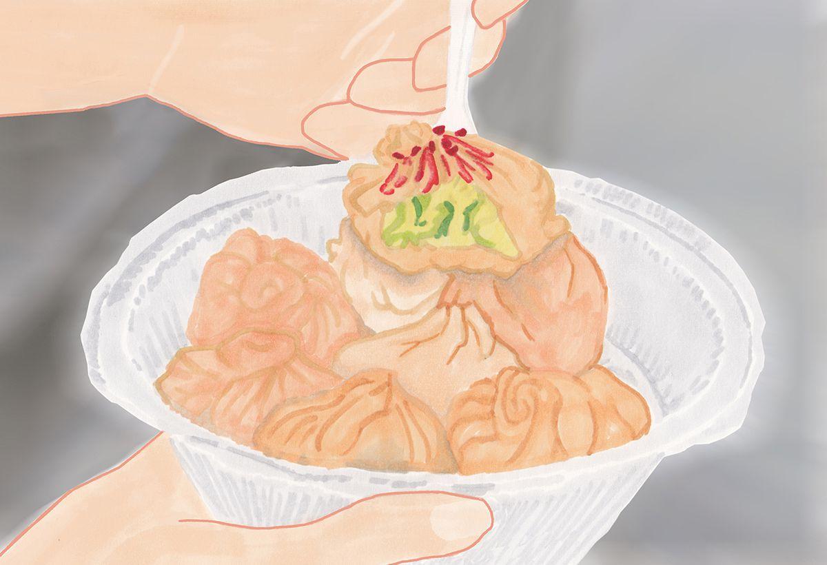 Dumplings at Phayul