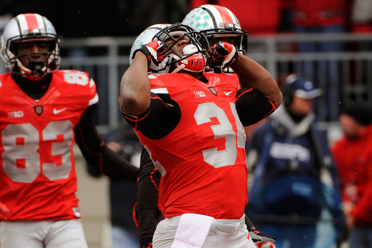 Carlos Hyde and Ohio State completed a perfect 12-0 season.