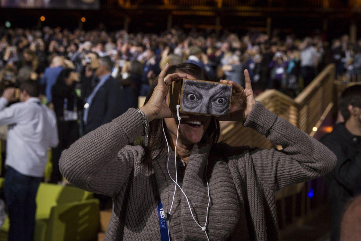Chris Milk's virtual reality demo at TED2016