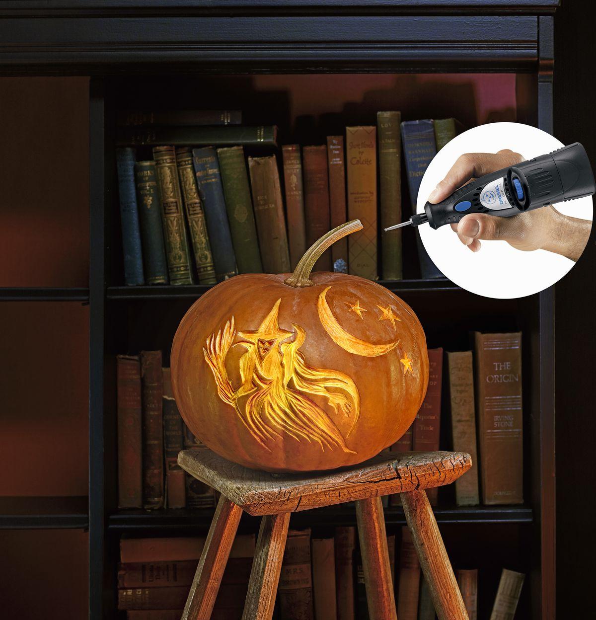 Pumpkin carving tools.