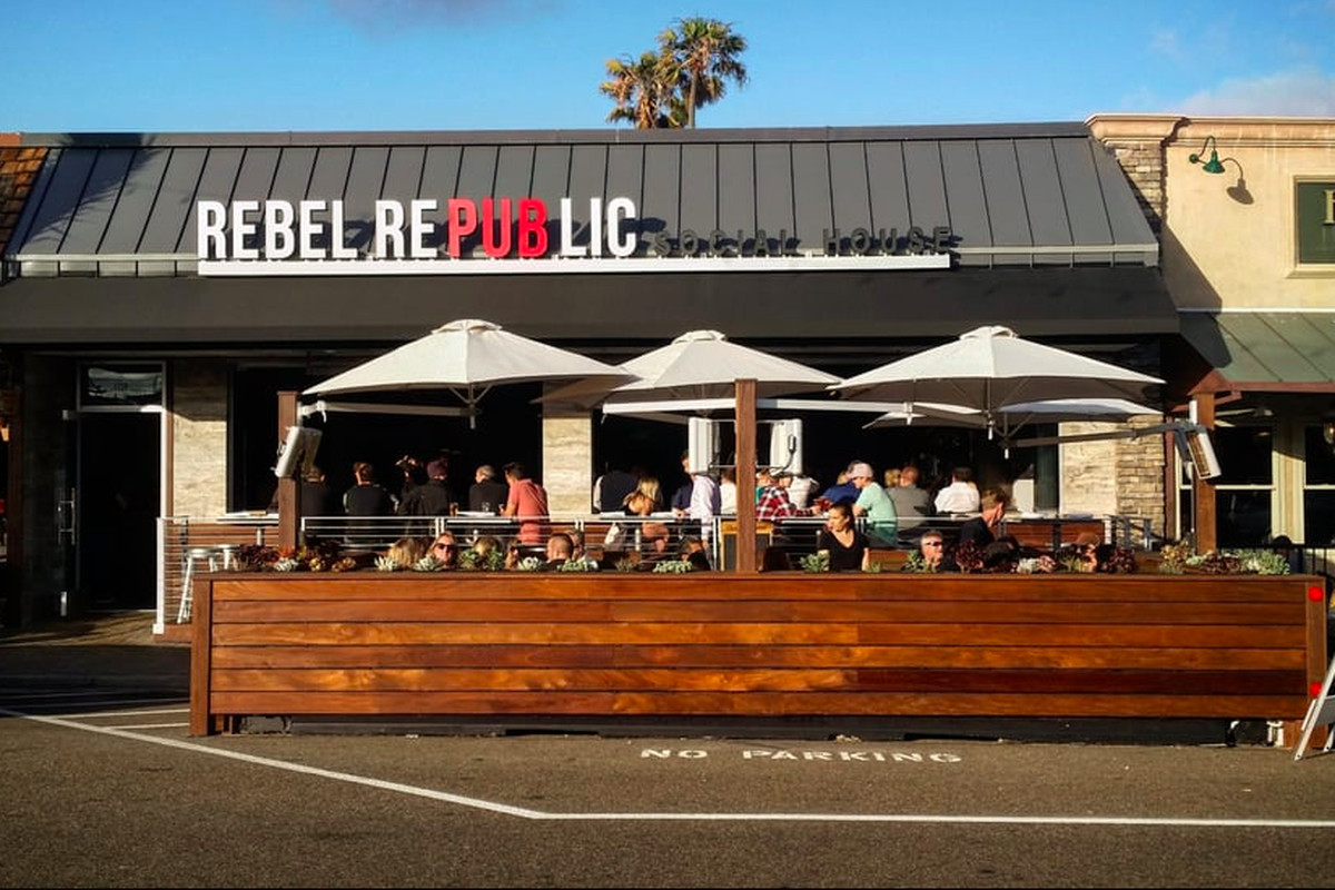 rebel republic sen o via yelp - Restaurant Patio