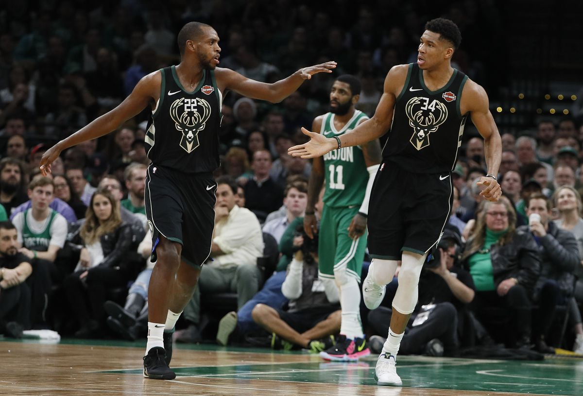 NBA: Milwaukee Bucks at Boston Celtics
