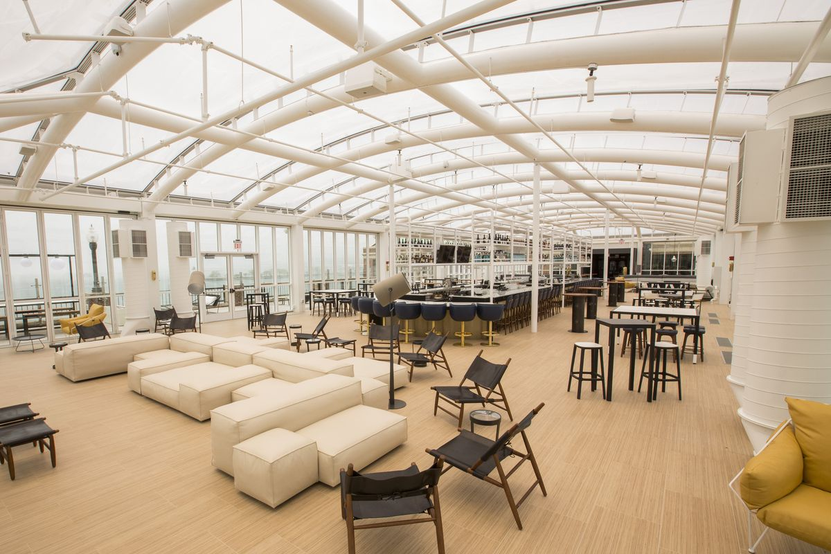 Offshore The Rooftop Bar At Navy Pier Is Open Eater Chicago