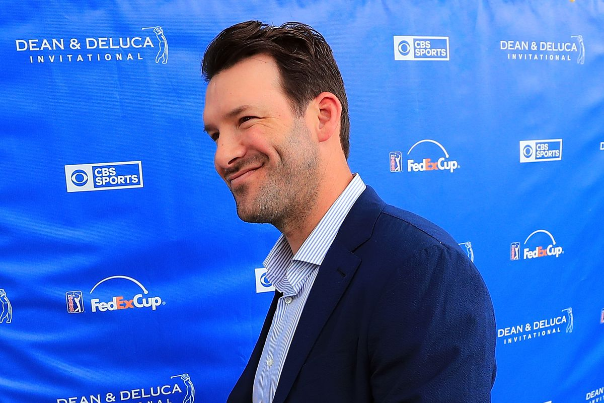 Tony Romo ready for CBS analyst booth and golf