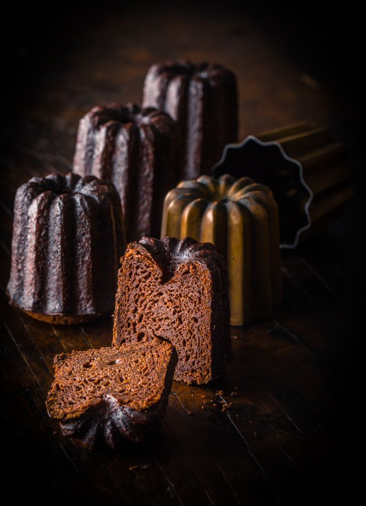 Chocolate canelés from Dandelion Chocolate