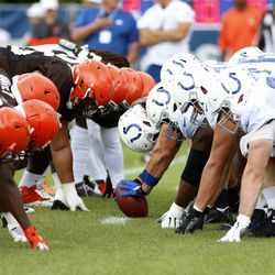 """August 2019: Sometimes, things get chippy when two teams get together for joint practices. There was a different element for when the Browns and Colts got together in Indiana for a couple of joint practices prior to their preseason game. Several fights took place during practice, with the general vibe being that Freddie Kitchens basically supported the """"toughness"""" his team was showing."""