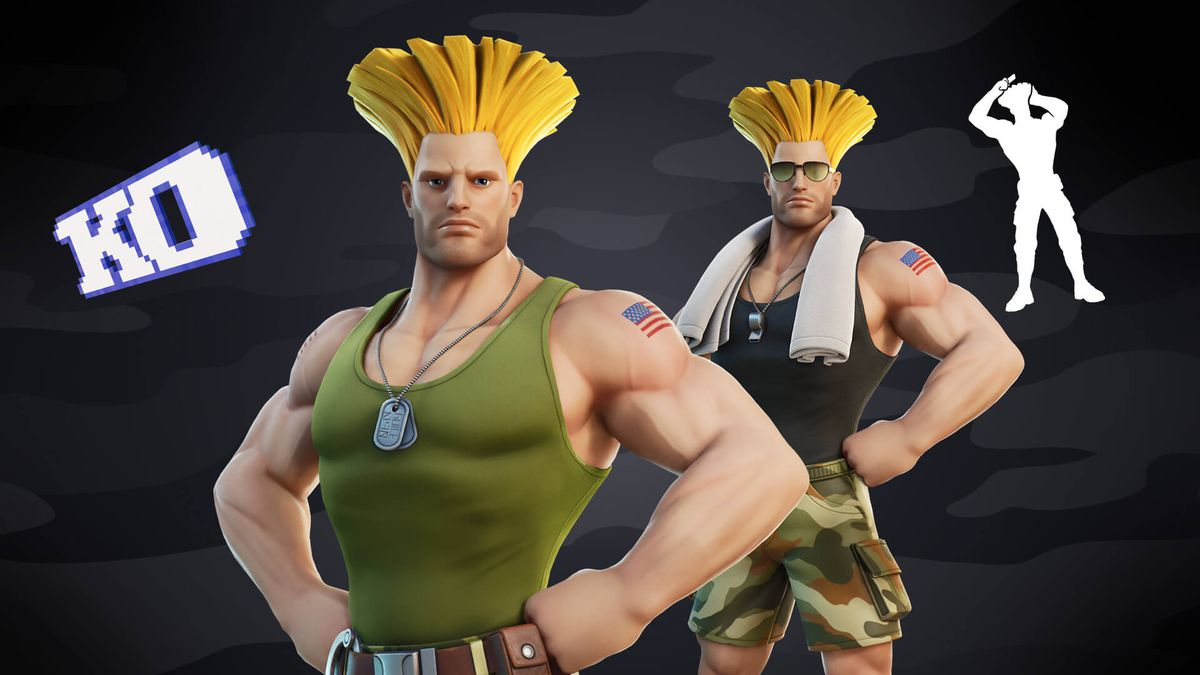 Street Fighter's Guile and Cammy are coming to Fortnite - The Verge
