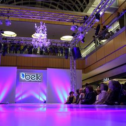 A runway show featured Belk fashions, styled for an array of occasions.