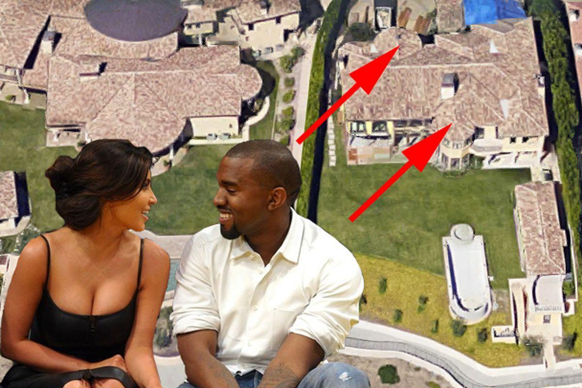"Kim and Kanye via <a href=""https://www.flickr.com/photos/accidentalpaparazzi/7288784106"">Noel Vasquez</a> / Getty"