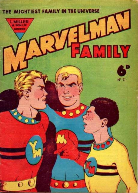 Marvelman Family No. 7, L. Miller & amp; Son (date unknown)