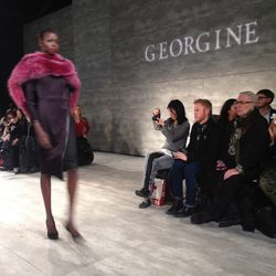 Colored furs from Georgine.