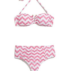 'Belladonna' bikini top and bottoms, $24 each, XS-XXL (online only)