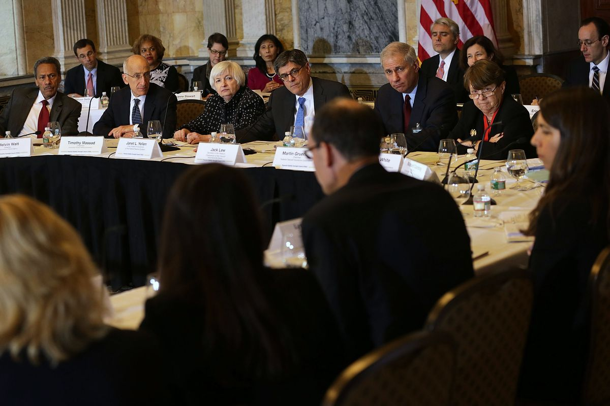 Treasury Secretary Lew Leads Financial Stability Oversight Council Meeting