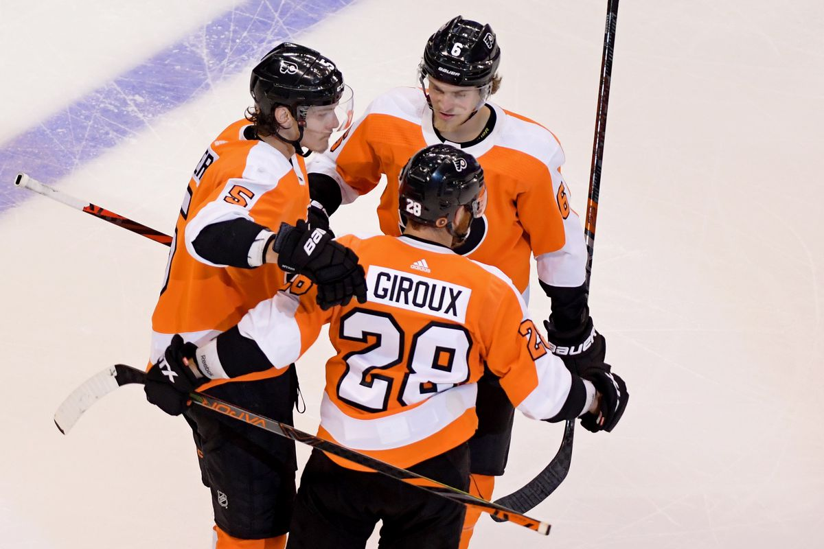 NHL: Stanley Cup Playoffs-New York Islanders at Philadelphia Flyers
