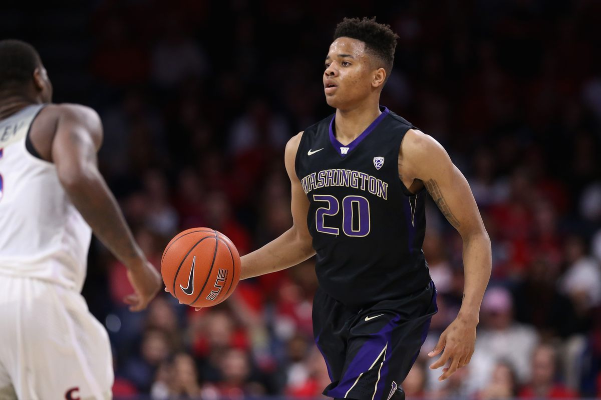 Markelle Fultz is selected No. 1 overall in the Blazer's Edge 2017 Mock NBA Draft by the Philadelphia 76ers.