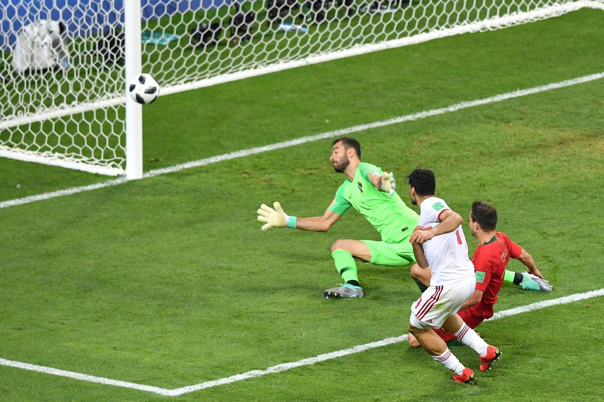 World Cup 2018: Iran were inches from upsetting Cristiano