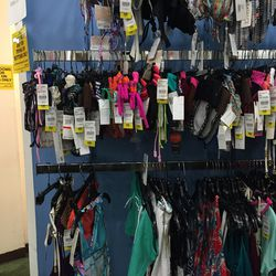The remaining swimsuits for women