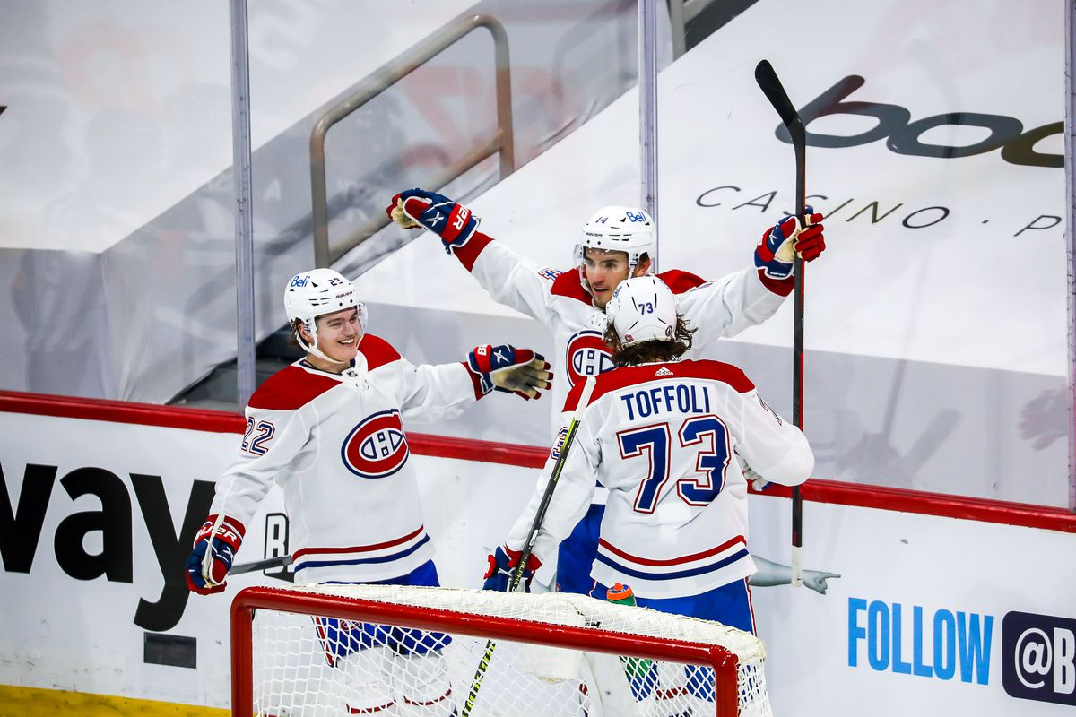 Montreal Canadiens v Winnipeg Jets - Game One