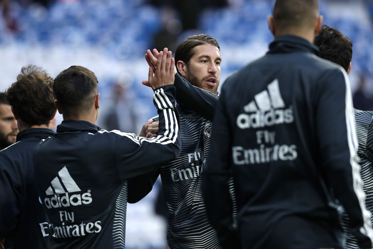 Real Madrid won?t rush Sergio Ramos back from his recent injury