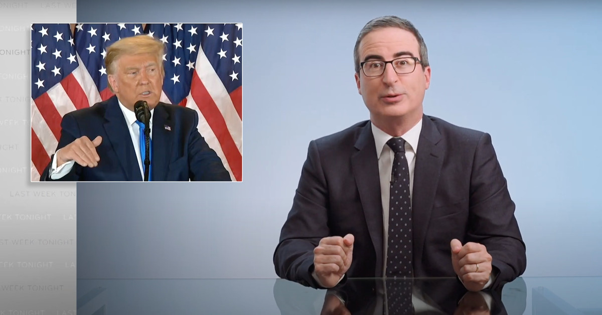 John Oliver Wants YOU To Be A Good Patriot And Send Weird Porn To The Trump Campaign
