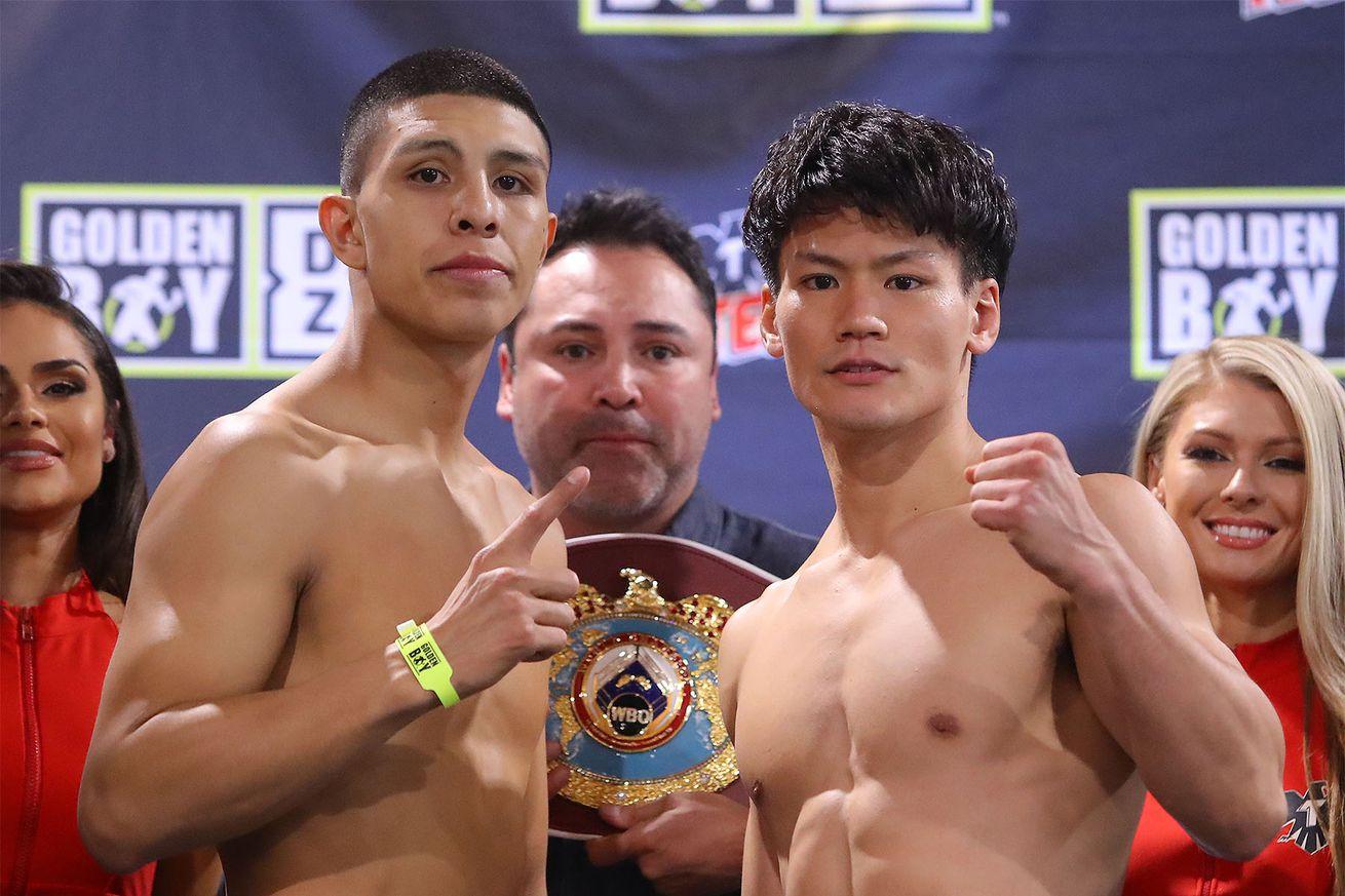 MunguiaInoueWeighIn Hoganphotos3.0 - Munguia, Inoue on weight for DAZN card