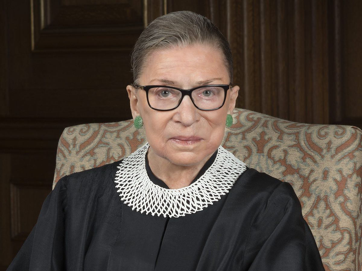 Justice Ruth Bader Ginsburg. (Photo: Courtesy of the Collection of the Supreme Court of the United States)