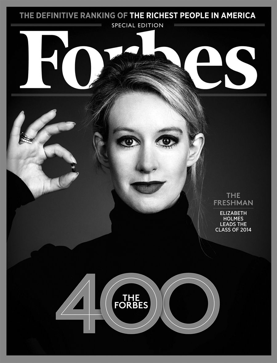Theranos CEO Elizabeth Holmes\'s Five Best Cover Story Appearances ...