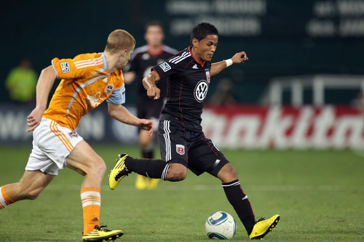 Andy Najar was once again the lone bright spot for D.C. United.