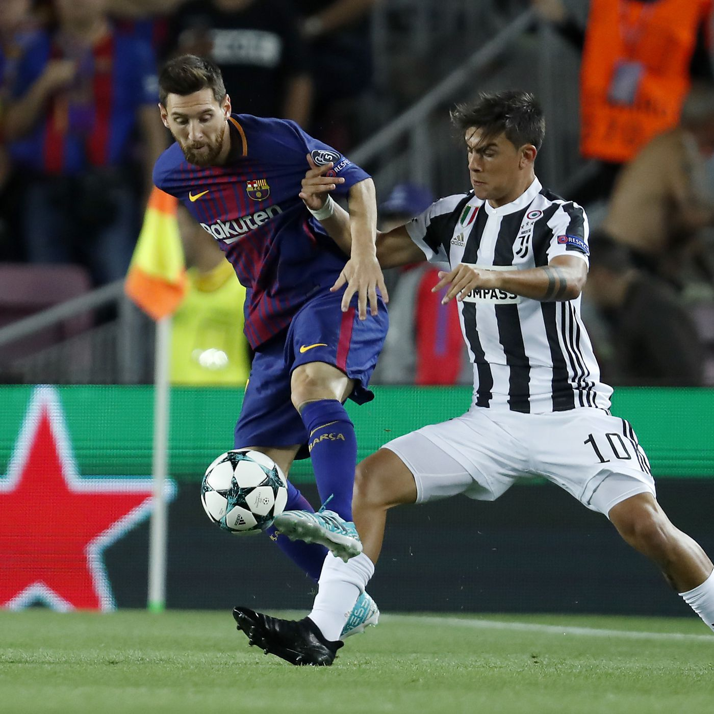 uefa champions league draw results barcelona to face juventus dynamo kiev and ferencvaros in group g barca blaugranes uefa champions league draw results