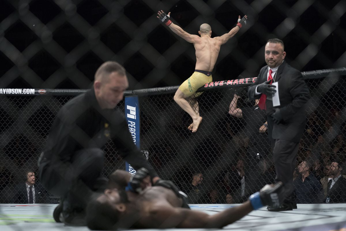 MMA: UFC Fight Night-Fresno-Moraes vs Sterling
