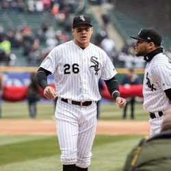 White Sox outfielder Avisail Garcia is on the disabled list with an injured right hamstring. | Erin Brown/Sun-Times