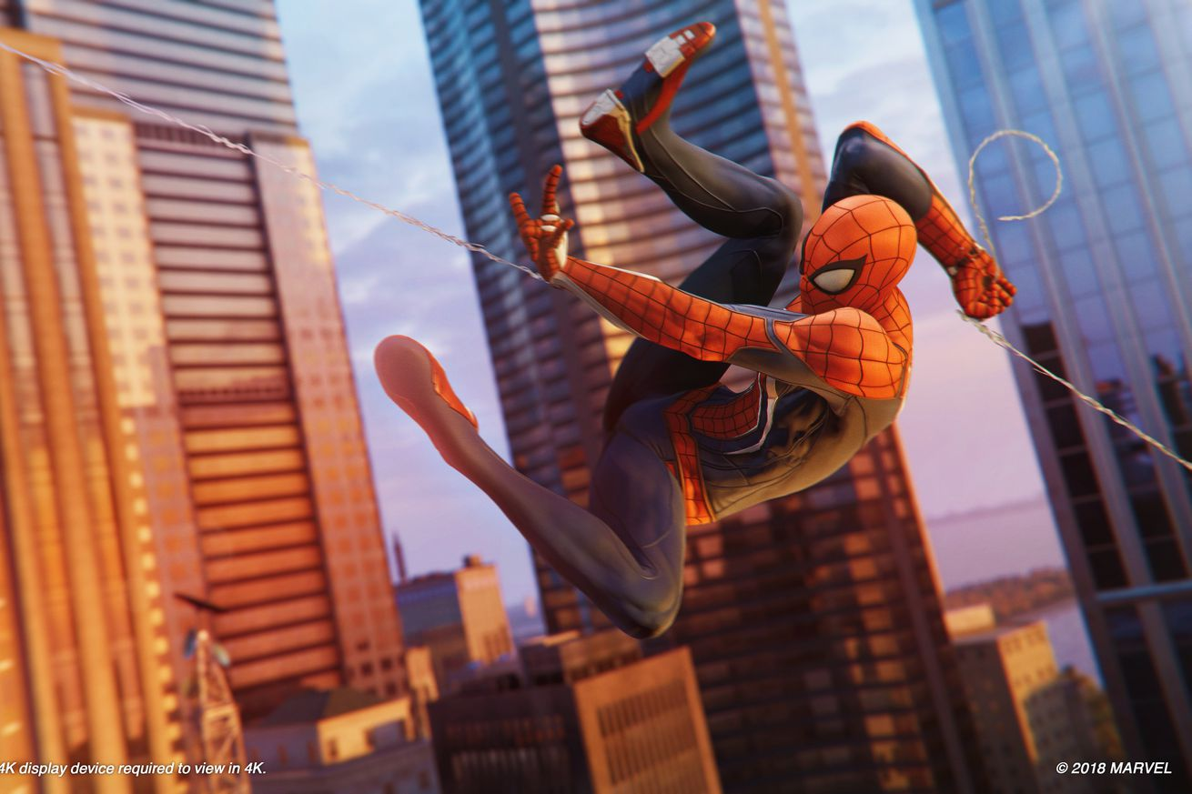 the first hour of spider man on the ps4 strains against the limits of open world storytelling