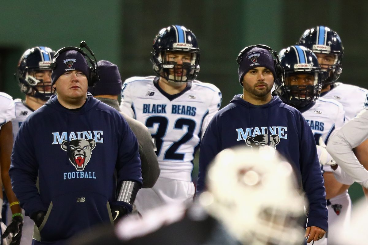 Minnesota Football Maine Head Coach Joe Harasymiak Hired As