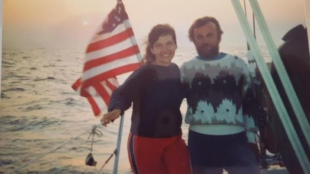 Ryszard Rewucki and his wife Anna loved sailing together. | Provided photo
