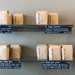 """<strong>Four Barrel</strong> Coffee Beans, <a href=""""https://secure.fourbarrelcoffee.com/"""">$16-$18</a> (photo via <a href=""""http://www.thatfoodcray.com/2013/07/15/san-francisco-cray-four-barrel-coffee/"""">That Food Cray</a>)"""