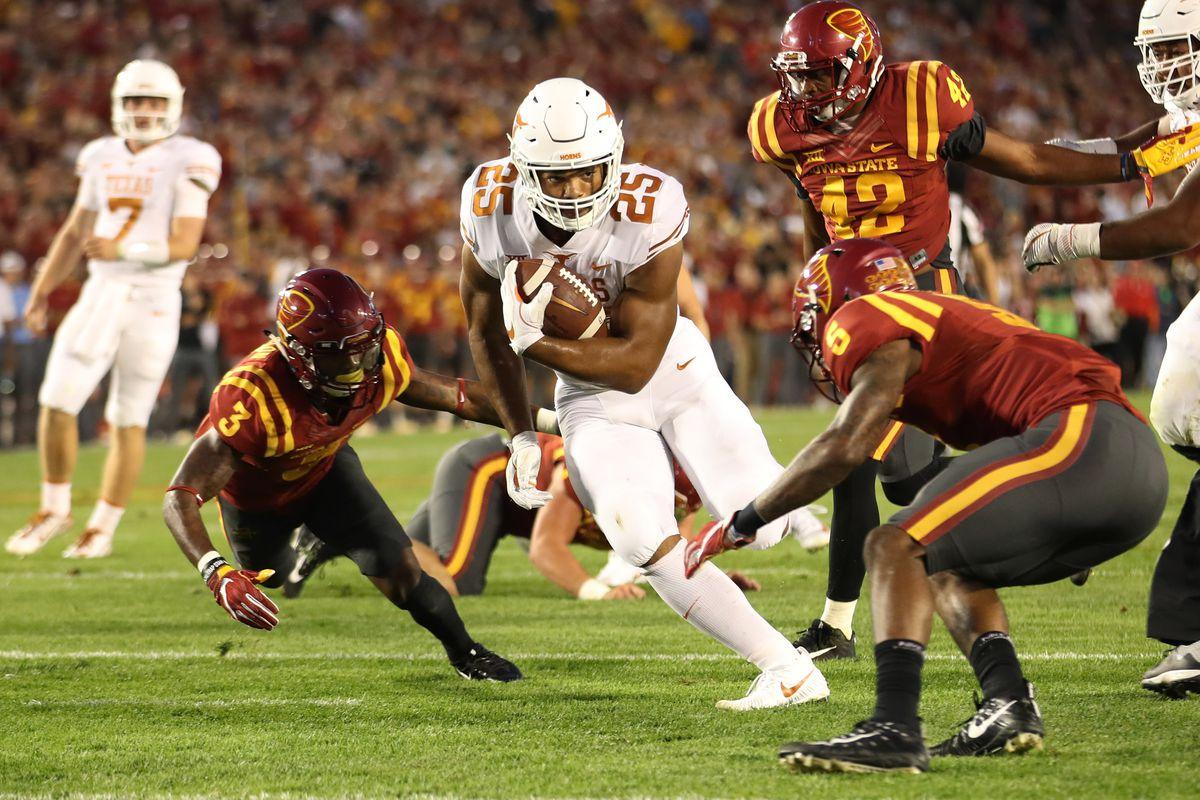 NCAA Football: Texas at Iowa State