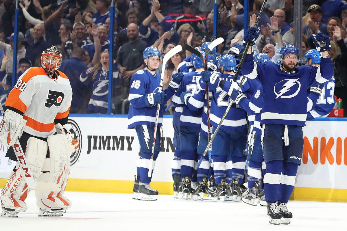 1bd9a5ec5 Kim Klement-USA TODAY Sports. The Flyers almost made it all the way back  last night vs. the Tampa Bay Lightning ...