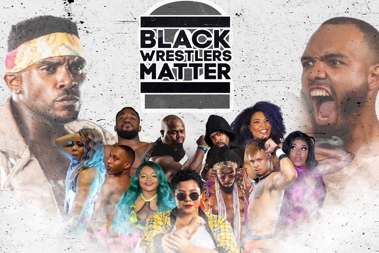 Black Wrestlers Matter