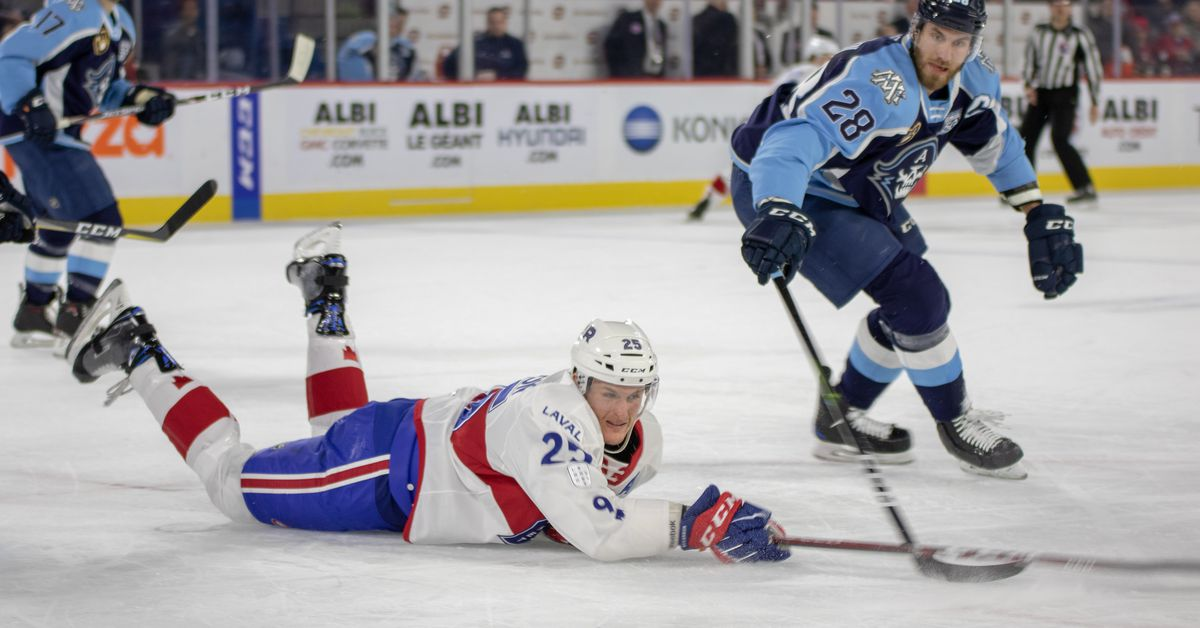 Rocket vs. Admirals highlights: Mistakes haunt Laval in lopsided loss - Habs Eyes on the Prize