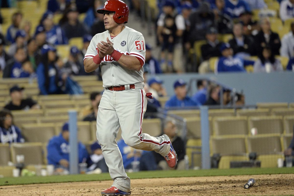 Chooch is very excited about Cole Hamels' return.