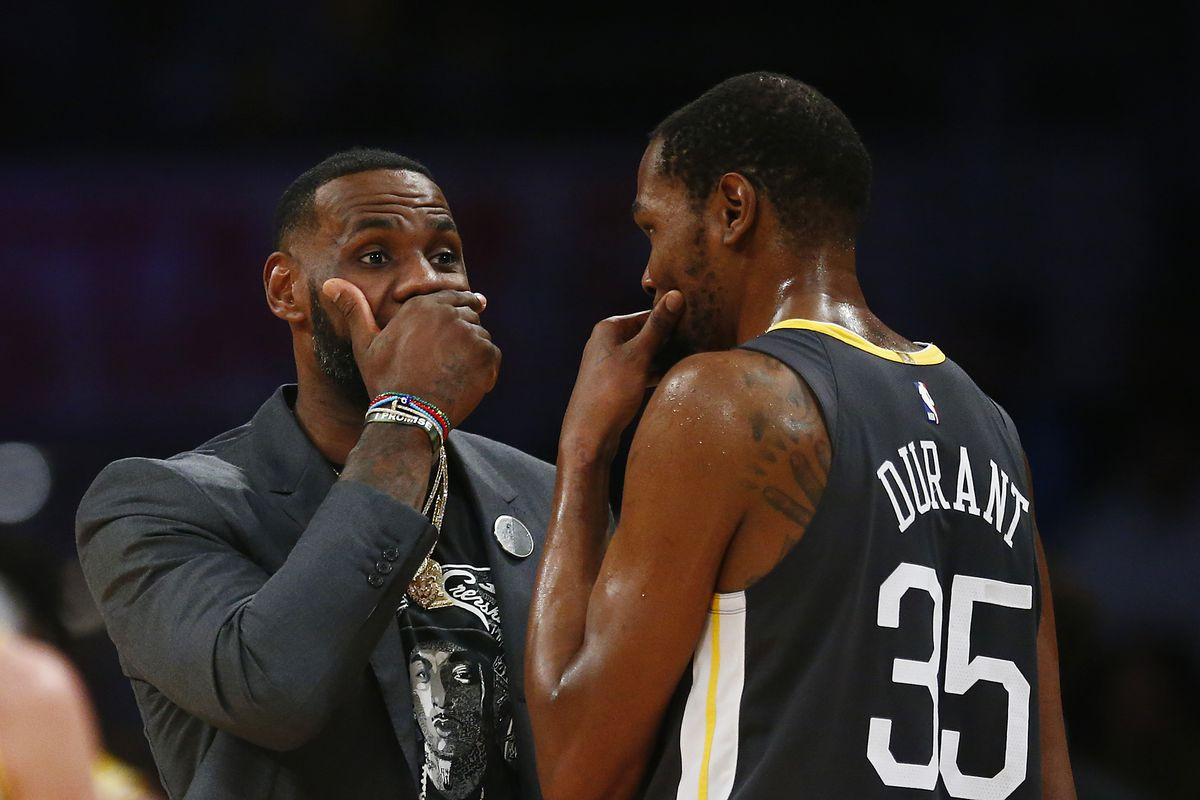 d7fe54e6807 LeBron James is  looking forward  to seeing who joins him on the Lakers in  free agency