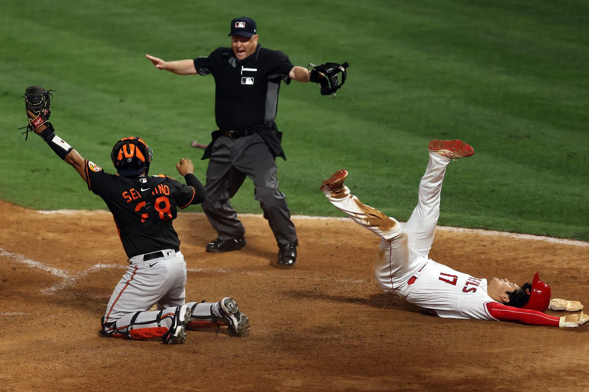 Baltimore Orioles v Los Angeles Angels