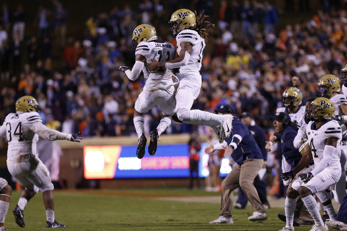 NCAA Football: Pittsburgh at Virginia