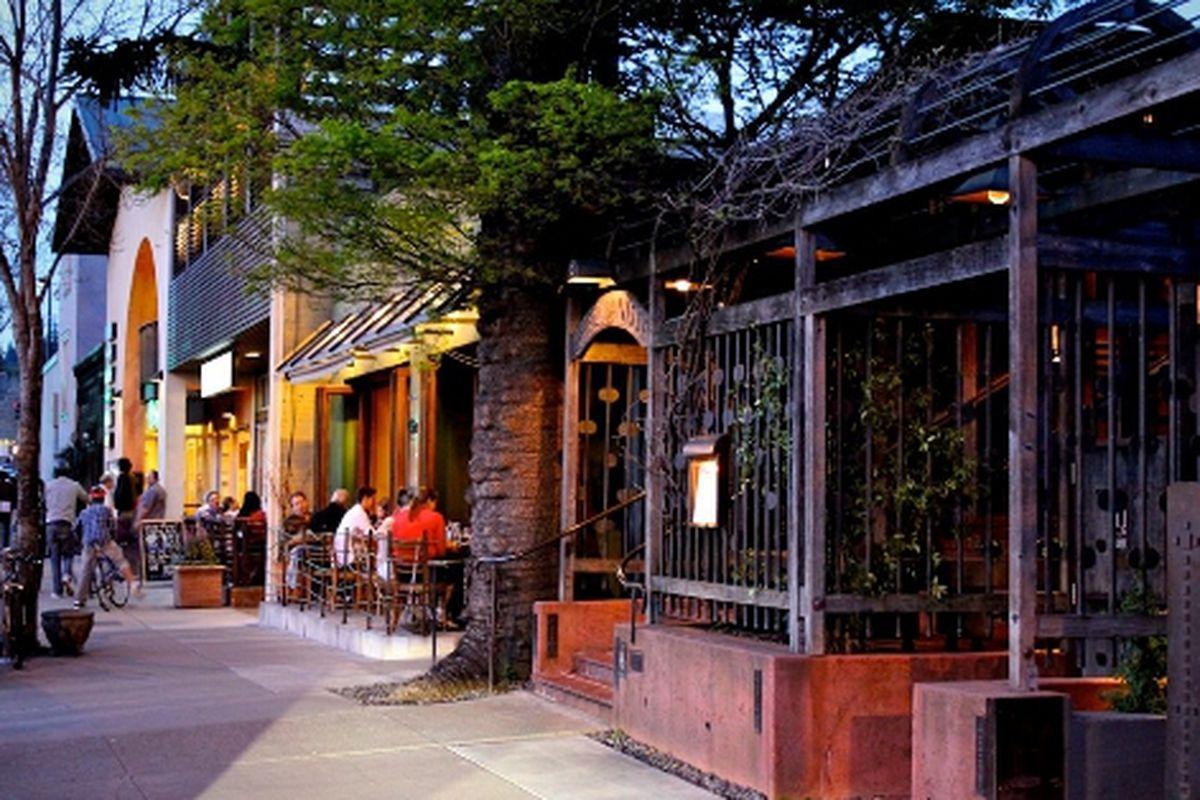 Berkeley's Gourmet Ghetto.