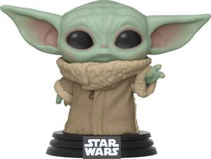 A product shot of the Baby Yoda Funko Pop